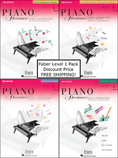 Faber Piano Adventures Level 1 - PACK, SET (Lesson/Theory/Perf/Technique) NEW !