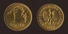 POLONIA 1 GROSZ 1993 POLAND POLSKA
