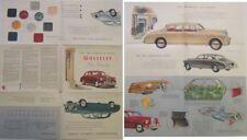 Wolseley 6/90 Six-Ninety Original UK Sales Brochure Pub. No. H&E 5753 1958