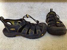 Keen Kids Waterproof Black Sandals/Hiking Shoes SZ 1-Mint