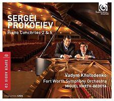 Vadym Kholodenko - Prokofiev: Piano Concertos 2 and 5 [CD]