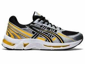 $150 New Asics Gel-Kyrios Sportstyle Sneakers Yellow/Black Men's Size US 10.5