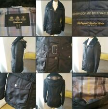 *Excellent Condition* Beautiful Ladies Black ♡BARBOUR♡ Winter Jacket~Coat~ UK 10