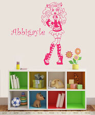 Wall Stickers custom name Monster High kid Removable Vinyl Decal Art Mural Decor