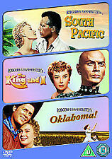 SOUTH PACIFIC / OKLAHOMA / THE KING AND I - 3 X DVD SET - YUL BRYMER +