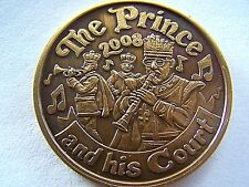2008 Pete Fountain THE PRINCE AND HIS COURT Antique Bronze Mardi Gras Doubloon