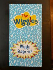 The Wiggles Free Concert Hot Potato Seat Giveaway Foldout W/Stickers Pc