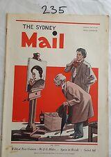 SYDNEY MAIL 1936 JULY 29,NEW GUINEA,BERLIN GAMES,AUSTRALIAN NEWS,MOTOR CARAVAN