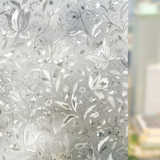 Frosted Privacy Glass Window Film Sticker Bedroom Bathroom Home Decor Waterproof