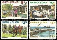 Norfolk Island 1996 Tourism 4 Stamp MNH Set Scott #606-9 14M-006