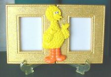New Unique Handmade 2 Pic Picture Photo Memory Frame with Easel Big Bird 4X7