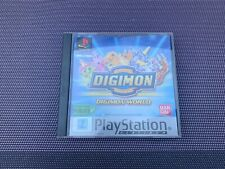Digimon World - Jeu Playstation 1 PS1 - Complet Pal FR