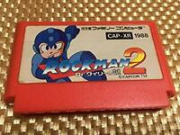 Famicom Rockman 2 Nintendo Japan import Video Game Soft Capcom NES FC Used F/S