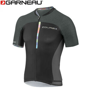 Louis Garneau Course M-2 Race Men's Cycling Jersey - Black Pastel