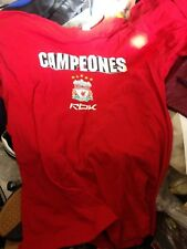 LIVERPOOL SHIRT CHAMPIONS LEAGUE 2005 FINAL LIMITED EDITION AT £10 REEBOK