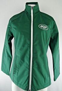 New York Jets GIII Women's Full Zip Soft Shell Jacket NFL M