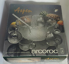 BELLA Ciotola del Punch Set con 8 tazze da ARCOROC (inscatolato)