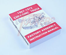 67 68 69 70 71 72 Chevy C10 Truck Factory Assembly Manual Restoration Guide