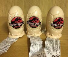 Topps Vintage 1997 * Jurassic Park El Mundo Perdido Dinosaurio Candy Huevos * X 3 + Toys