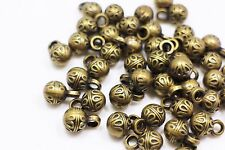Antique Bronze Ball Shank Sewing Button Round Circle Shaped Sweater 12mm 100pcs