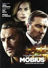 Mobius (DVD) Tim Roth, Jean Dujardin, Cecile de France NEW