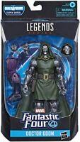 SHIPS 7/3! Fantastic Four Marvel Legends Doctor Doom 6-Inch Action Figure HASBRO