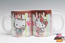 Hello Kitty & Dear Daniel valentine 2018  11 oz cup Pair mug cute US Seller