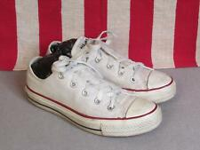 Vintage Converse Chuck Taylor Low Top Basketball Sneakers Shoes Size 4 Nice