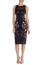 Karen Millen Oriental Floral Print Dress Size 16