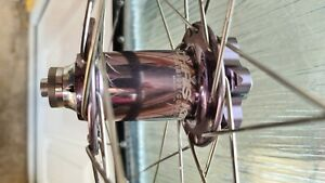 Chris King Mavic 717 front wheel pewter great condition