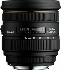 Sigma DG 24-70mm f/2.8 HSM EX DG IF ASP Lens For Nikon- Used Few Times- Mint