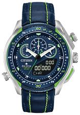 Citizen Eco Drive ProMaster SST Blue Dial Leather Band Men's Watch JW0138-08L