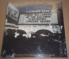 Lorin Hollander on Electric Grand Piano at Fillmore East  Angel SFO-36025 SEALED