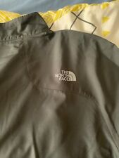mens, dark grey, the north face ambition jacket, size large. New with tags.