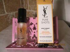 Yves Saint Laurent Pure Shots Night Reboot Serum .23 oz travel size NEW! in box
