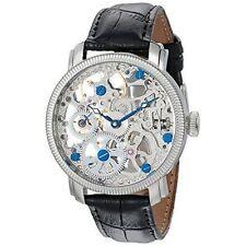 Stainless Steel Case Men's Skeleton Wristwatches