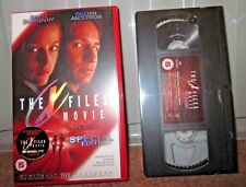 The X Files Movie Special Edition - VHS Tape - NEW - Sealed - David Duchovny