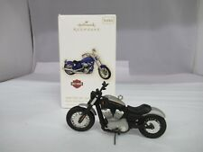 HALLMARK KEEPSAKE 2008 DIE CAST FXCWC SOFTAIL ROCKER HARLEY ORNAMENT, 806-L