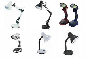 AdjustableTable Desk Lamp Light Home Office Study Bed Side Reading COB Flexible