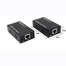 HDMI LAN Extender Repeater Over Single Cat5E/6 RJ45-Up To 200Ft 1080P 3D Set