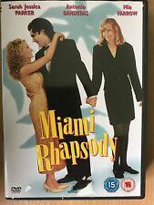 Sarah Jessica Parker Antonio Banderas Mia Farrow MIAMI RHAPSODY ~ Romcom UK DVD