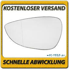 Spiegelglas für FORD FIESTA VI 2008-2015 links Fahrerseite asphärisch