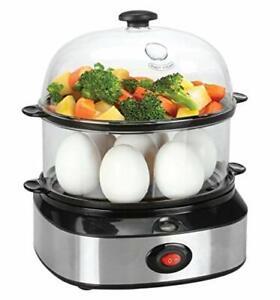 Egg Cooker Electric14 Eggs Capacity Egg Boiler Soft MediumHard Boiled Eggs Po...