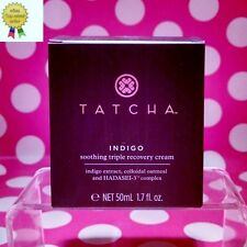 TATCHA Indigo Soothing Triple Recovery Cream 1.7 oz  SIZE AUTHENTIC! FRESH! BOX