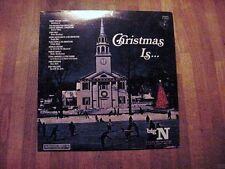 SEALED: CHRISTMAS IS… – Columbia Dept. Store Promo LP P 12515 - MINT
