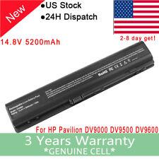 Battery for HP Pavilion DV9000 DV9100 DV9500 DV9600 DV9700 448007-001 EX942AA US