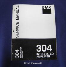Original NAD 304 Integrated Amplifier Service Manual