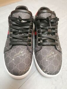 GUCCI ACE TIGER TRAINERS SIZE UK 10 WORN ONCE