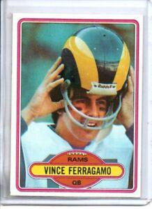 1980 TOPPS VINCE FERRAGAMO (NM/MT OR BETTER)