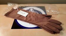 Vintage Pair Of The Bailey Co. Women'S Light Brown Gloves New Nwt 1950'S 1960'S